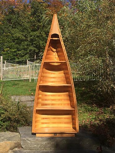 Canoe Shelves