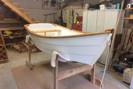 Refinished Row Boat