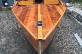Refinished Giesler Boat